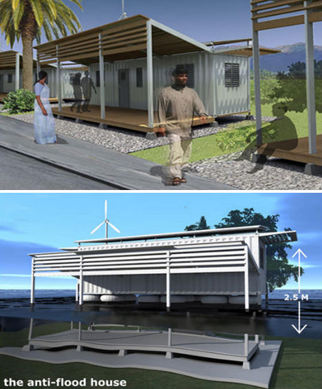 Best Home Theater Design Shipping Container Homes Arizona: Tucson Eco Village Concept Housing